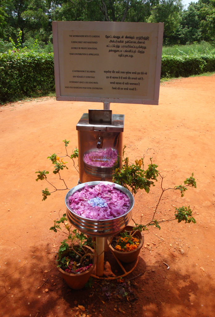 donation box_matrimandir