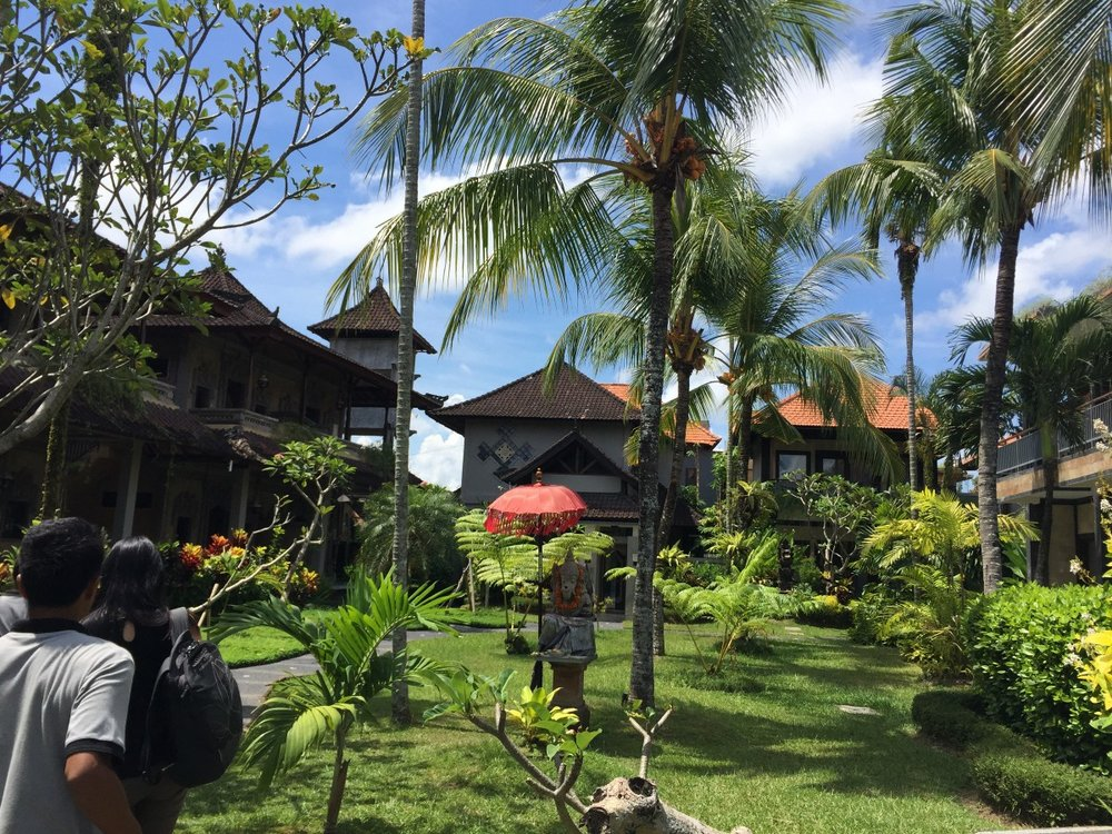 Arriving in Ubud, Bali for a 3 day retreat with 40+ product people :D