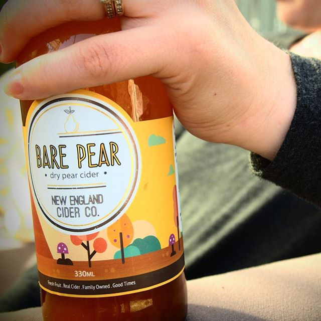 New England Cider Co... Helping you get through a Monday arvo since 2015. #neciderco #barepear #drinkcraft #drinklocal #drinkrealcider #drycider #pearcider #perry #monday #mondaymood #cider #ciderandsun