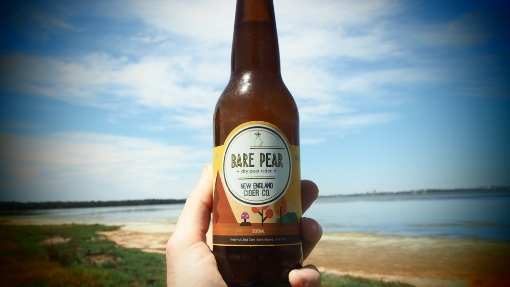 BARE PEAR  - 'Bare Pear is exactly what it is, fresh Aussie Pears stripped back and shown with all to see, just how good Aussie Pear juice is! It's a dry pear so if you're not into the sweet life, this is your drink, and unbelievably refreshing! 5.5% ABVAVAILABLE IN: 330ml bottles