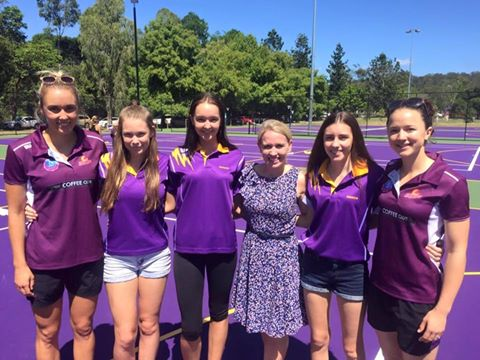 More courts for The Gap Netball Club -