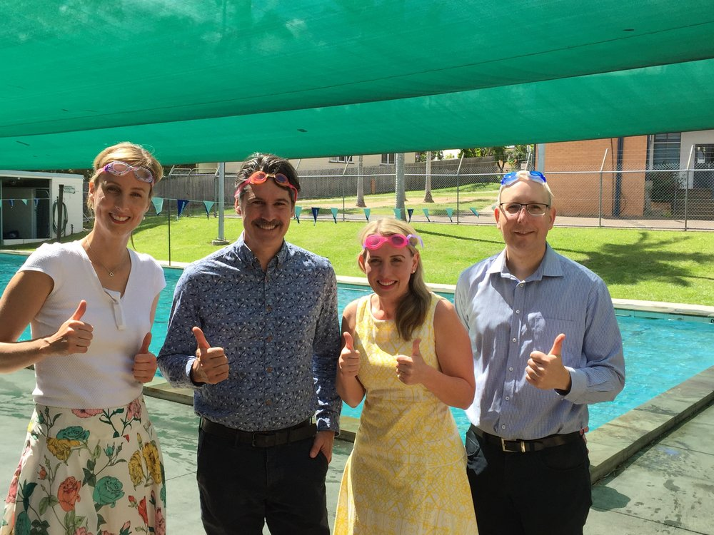 $150,000 to upgrade the pool at The Gap State School -