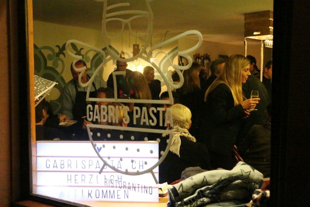 Der obere Bereich - Gabri's Pasta Events