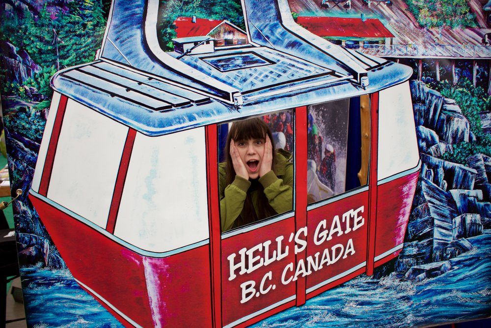 As someone who is scared of heights, thinking about the gondola ride at Hell's Gate had me a little worried.