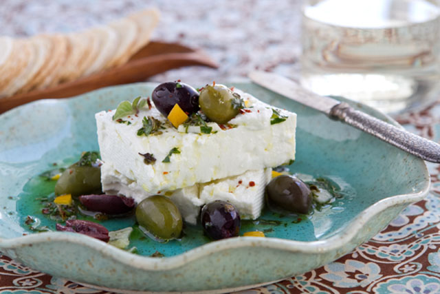 Marinated-Feta-Cheese