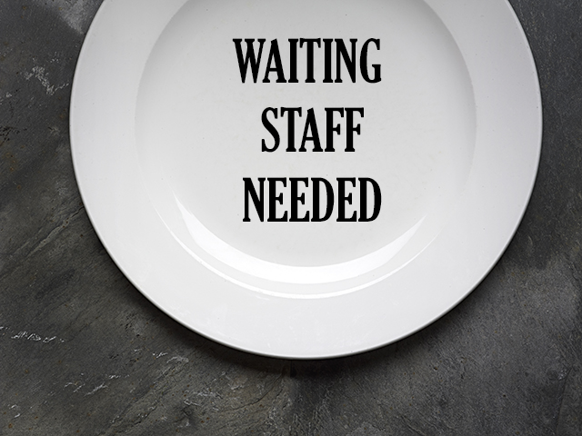 waitingstaffneeded
