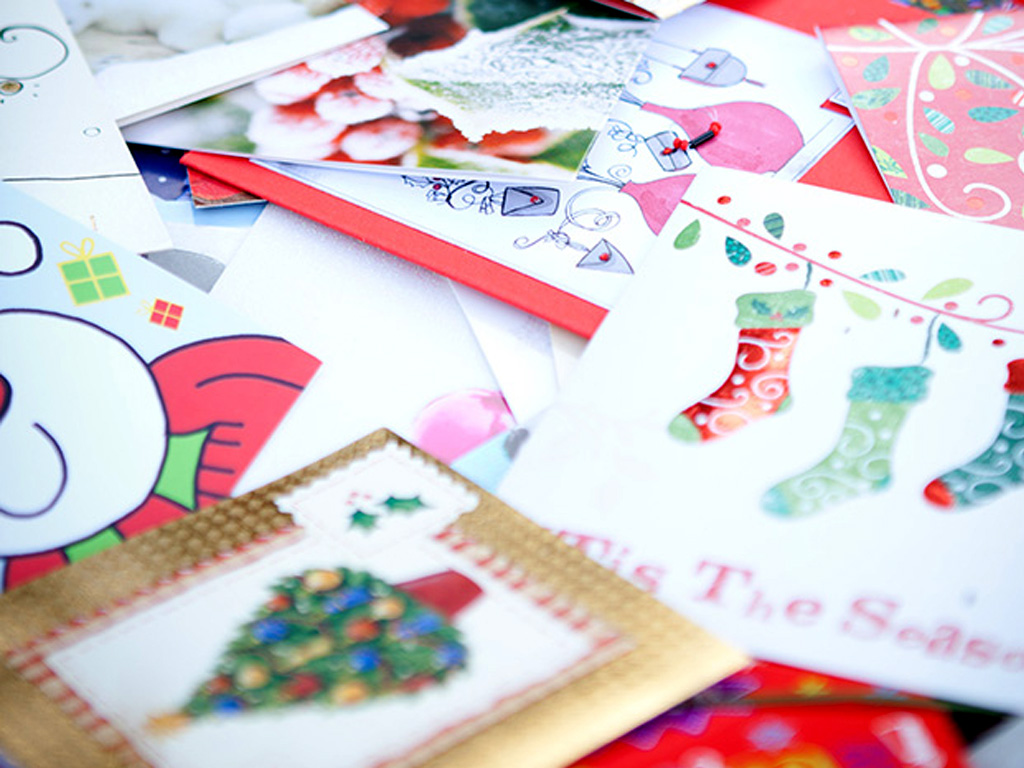 recyclechristmascards