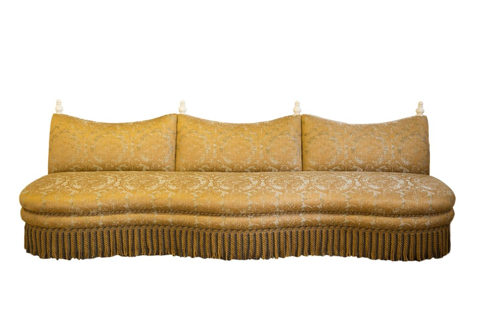 Straight Marrakesh banquette - front view