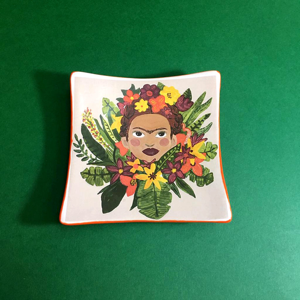 Frida Mini Transfer Platter  £20.00  11 x 11 x 2.5cm