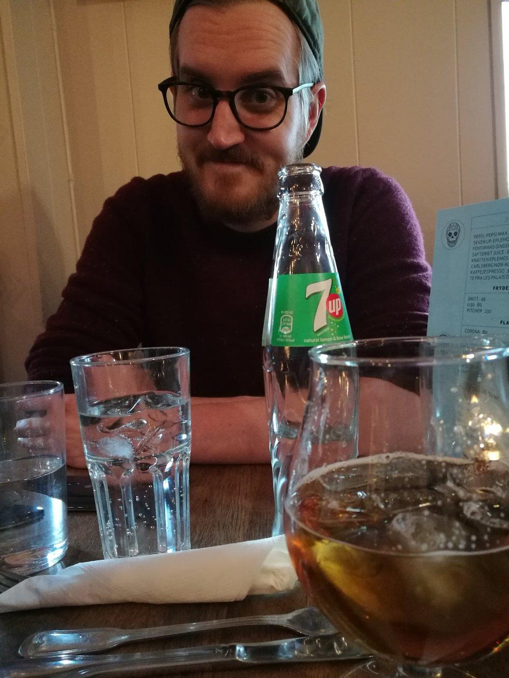 Fin fyr på taco-middag på Grünerløkka