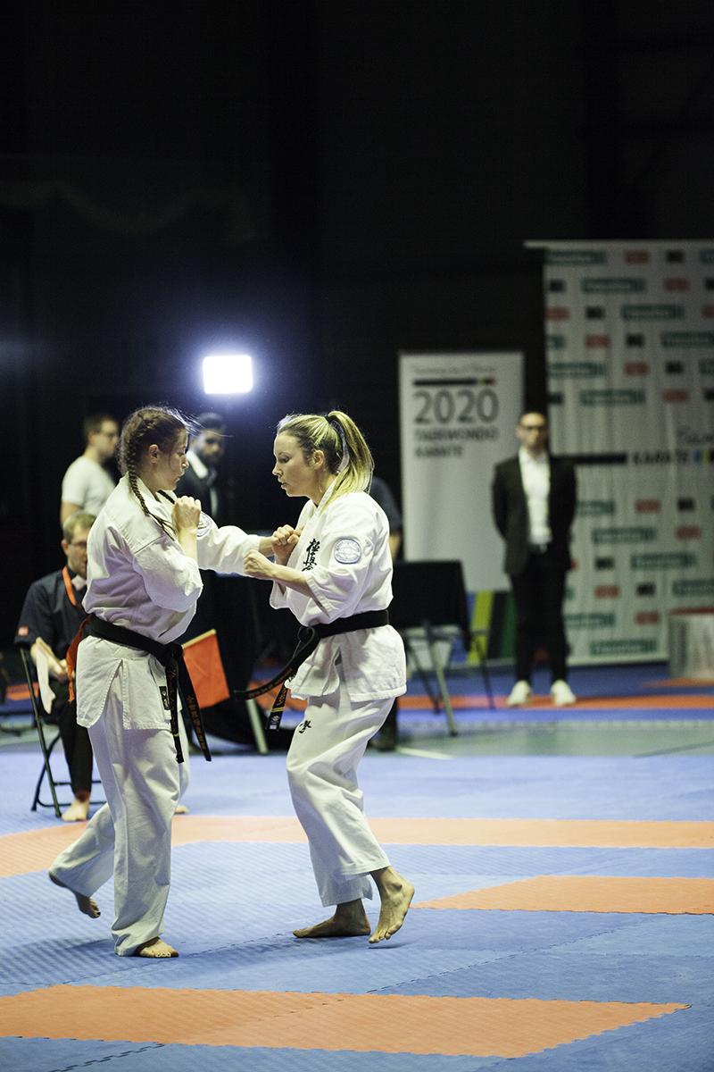 En tur innom NM i Karate, kult!