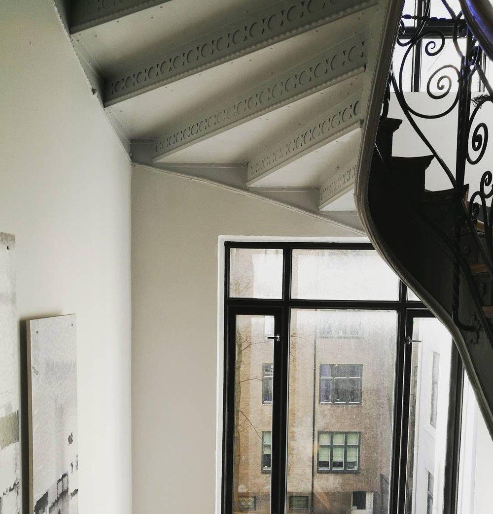 En fantastisk leilighet på Frogner, med en magisk oppgang.