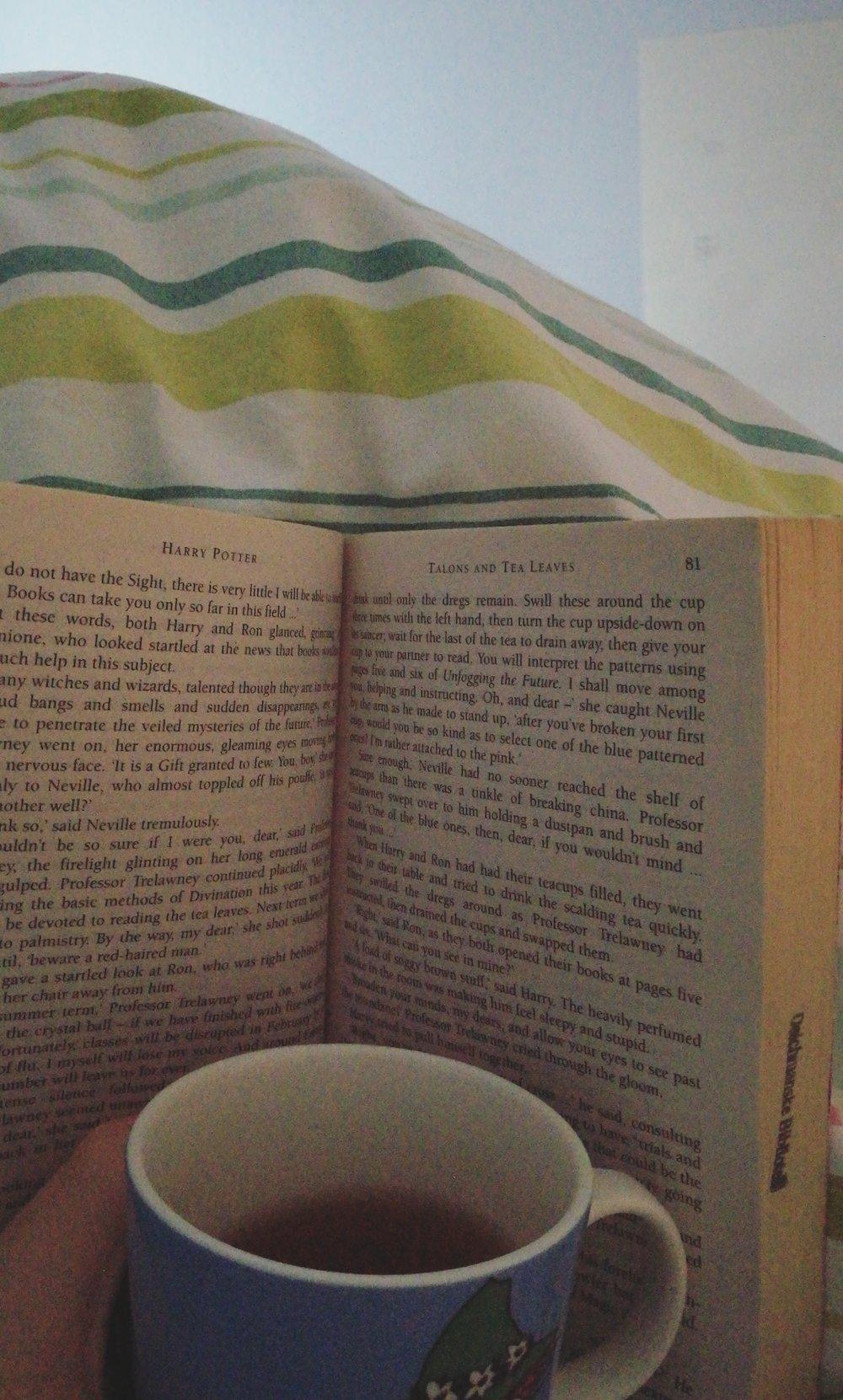 En morgen med Harry Potter og te!
