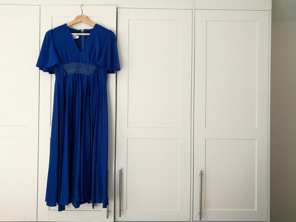 Mammas gamle kjole, passer perfekt til meg