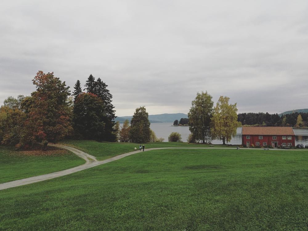 Høsten er aldeles ikke grå selvom himmelen er det