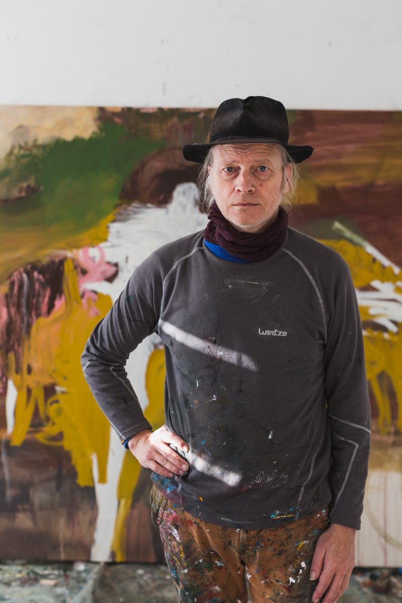 Billedkunstner Bjørnulf Dyrud