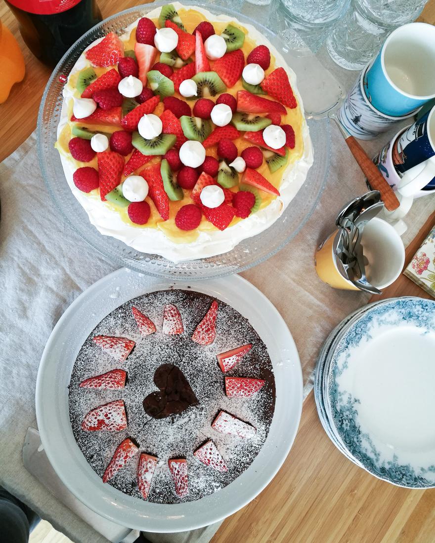 Et nytt kaffebesøk, en ny anledning til å bake kake.