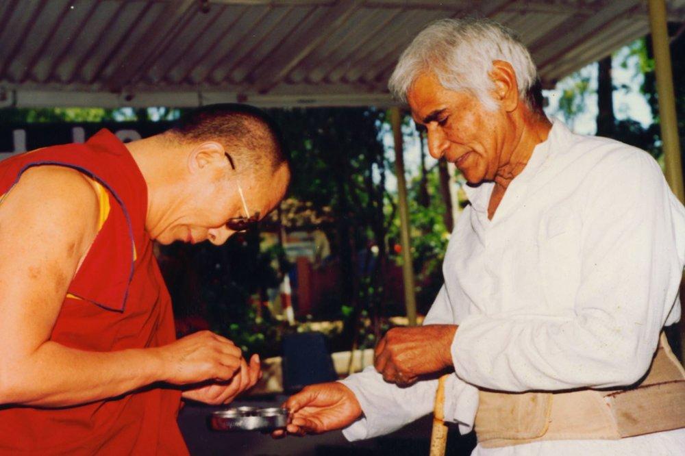 His Holiness Dalai Lama at Anandwan