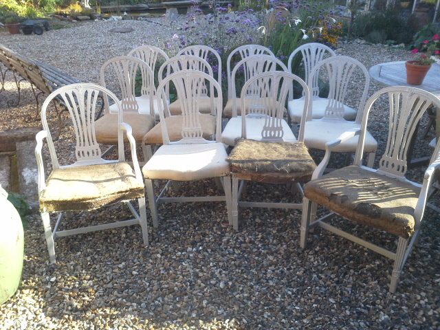 Copy of A dozen Georgian chairs. £1500