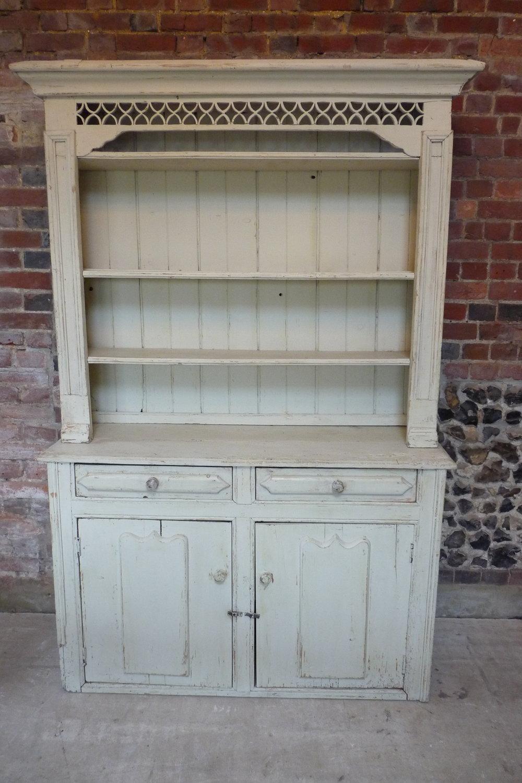 Small Irish 18th Century painted dresser. £495.