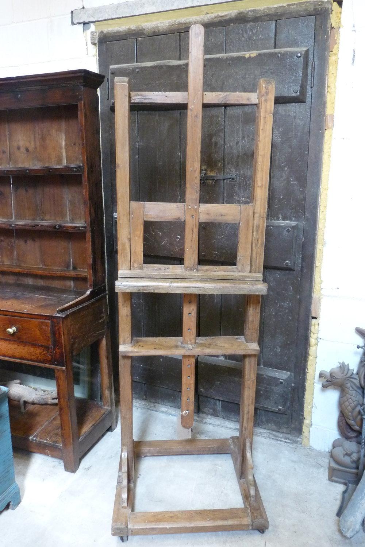 Victorian adjustable easel. £375.