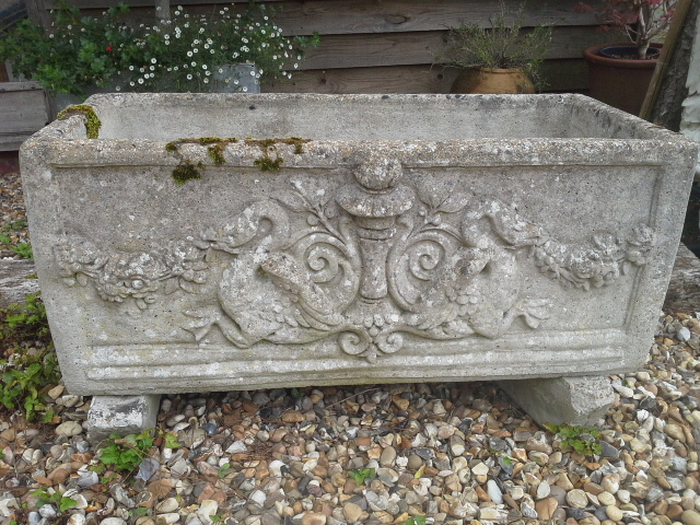 Decorative garden trough. £395.