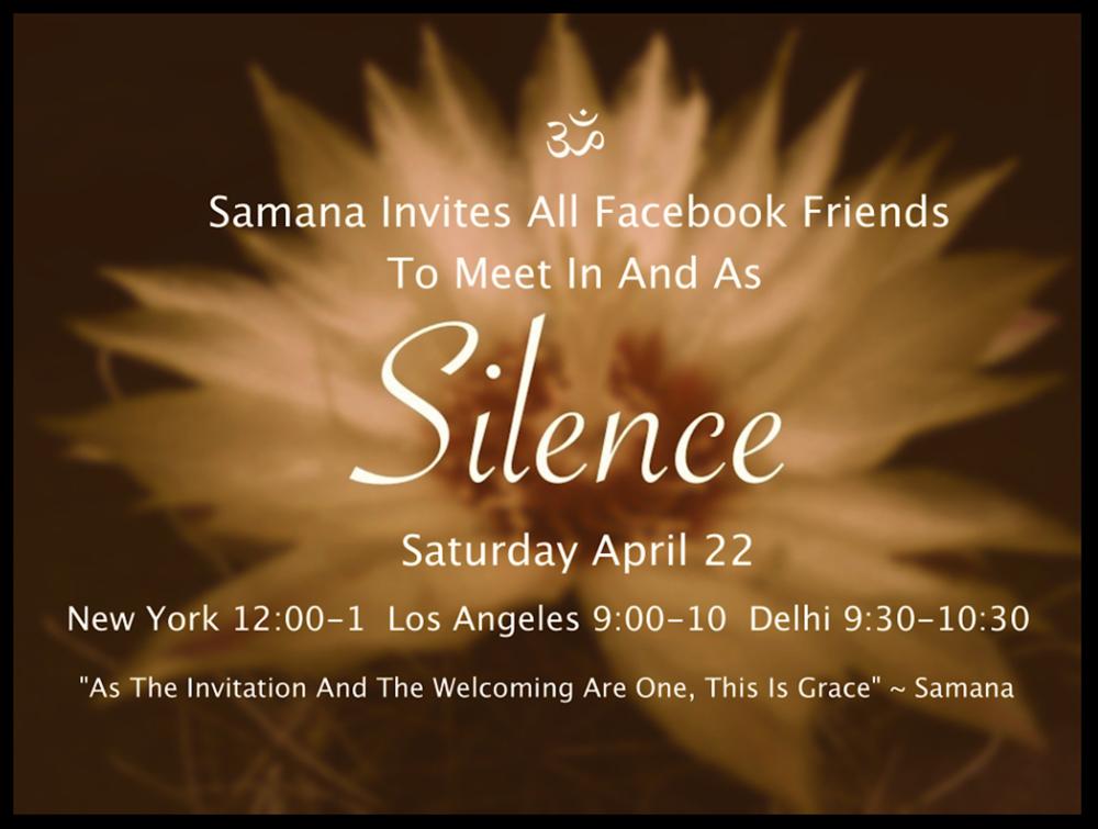 Silence Satsang