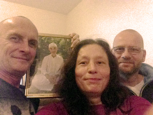 Devotees from Germany