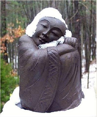 Budda in snow small.JPG