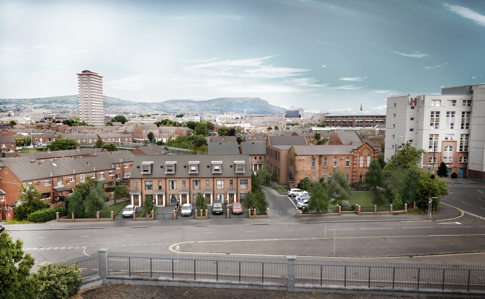 Proposed view from Citylink Business Park