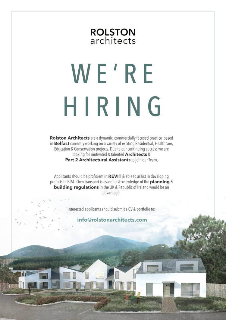 WE\'RE HIRING! — ROLSTON architects