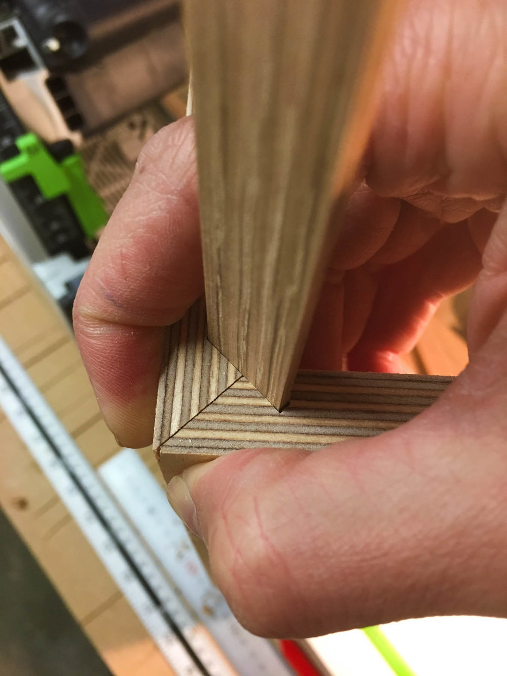 Mitres and splines