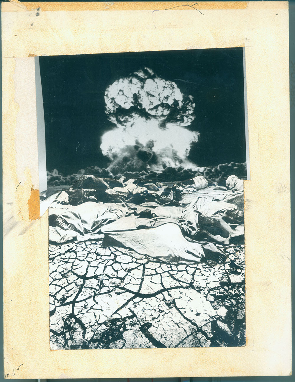 Nuclear Winter - PhotomontageGelatin silver prints andink on card1981First published:No Nuclear Weapons,CND/Pluto Press, 1981Catalogue: PK/80