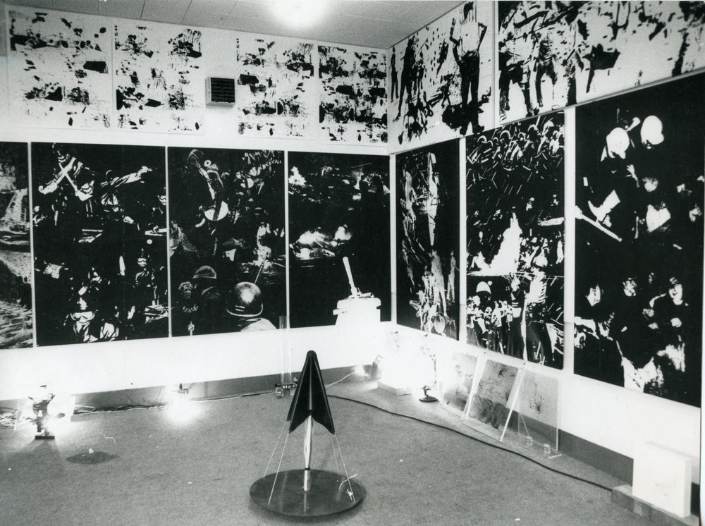 Gardner Art Centre, Sussex University, 1971