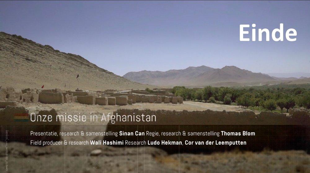 Voor het hele verhaal, de achtergronden en de reacties:  missieafghanistan.nl