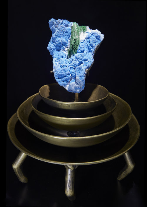 """Lag"" - Primary Malachite on Chrysocolla"