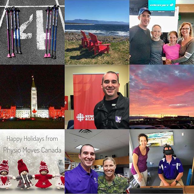 Thanks for all your support - it was a great year!  Lots more to come in 2018!  #2017bestnine #physiomovescanada