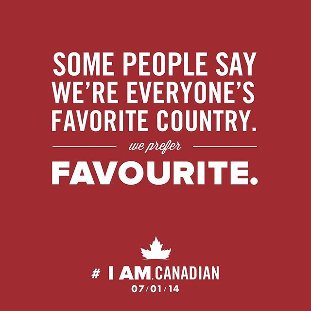 Happy Canada Day! 🇨🇦