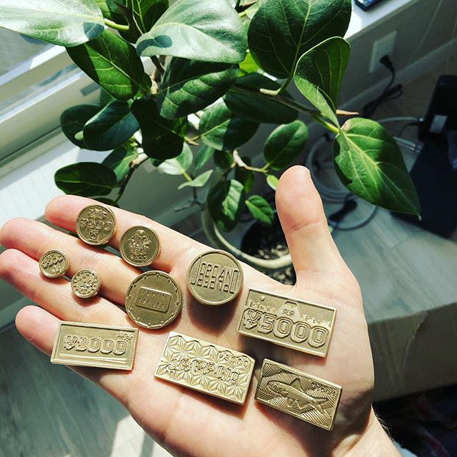 Coin masters have arrived! #coins #metalcurrency #boardgames #tabletopgames