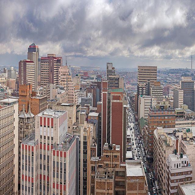 Johannesburg Panorama 1 •