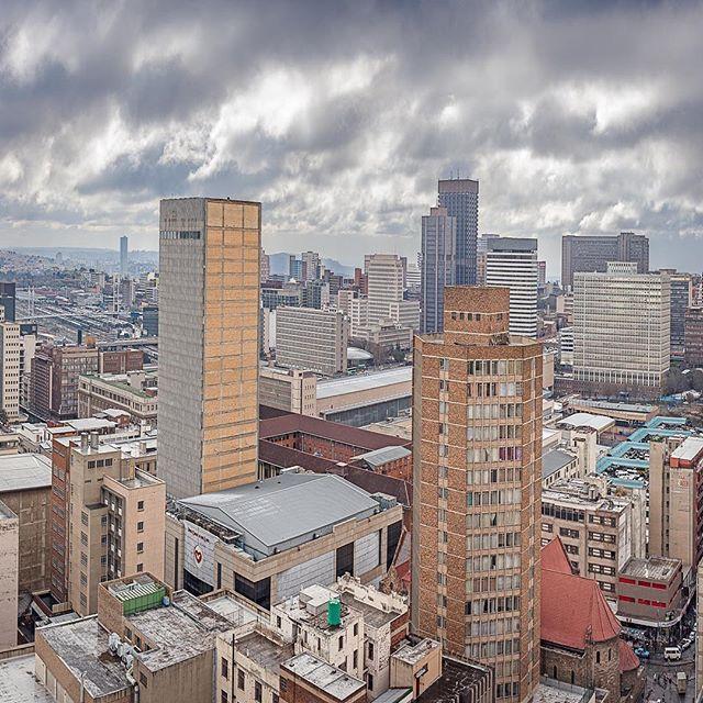 Johannesburg Panorama 2 •