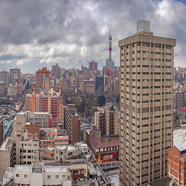 Johannesburg Panorama 3 •