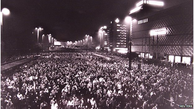 Leipzig Peace Rallies