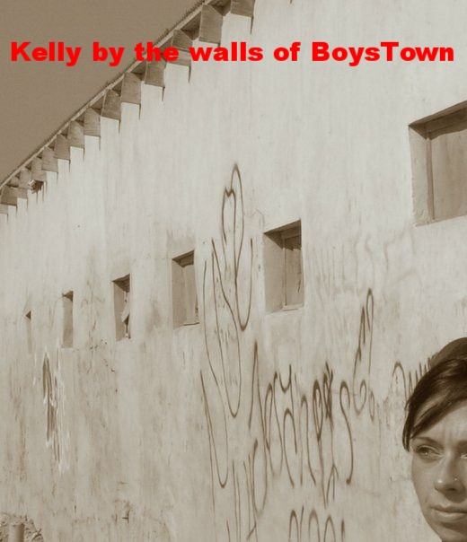 Walls of Boys Town (Mexico)