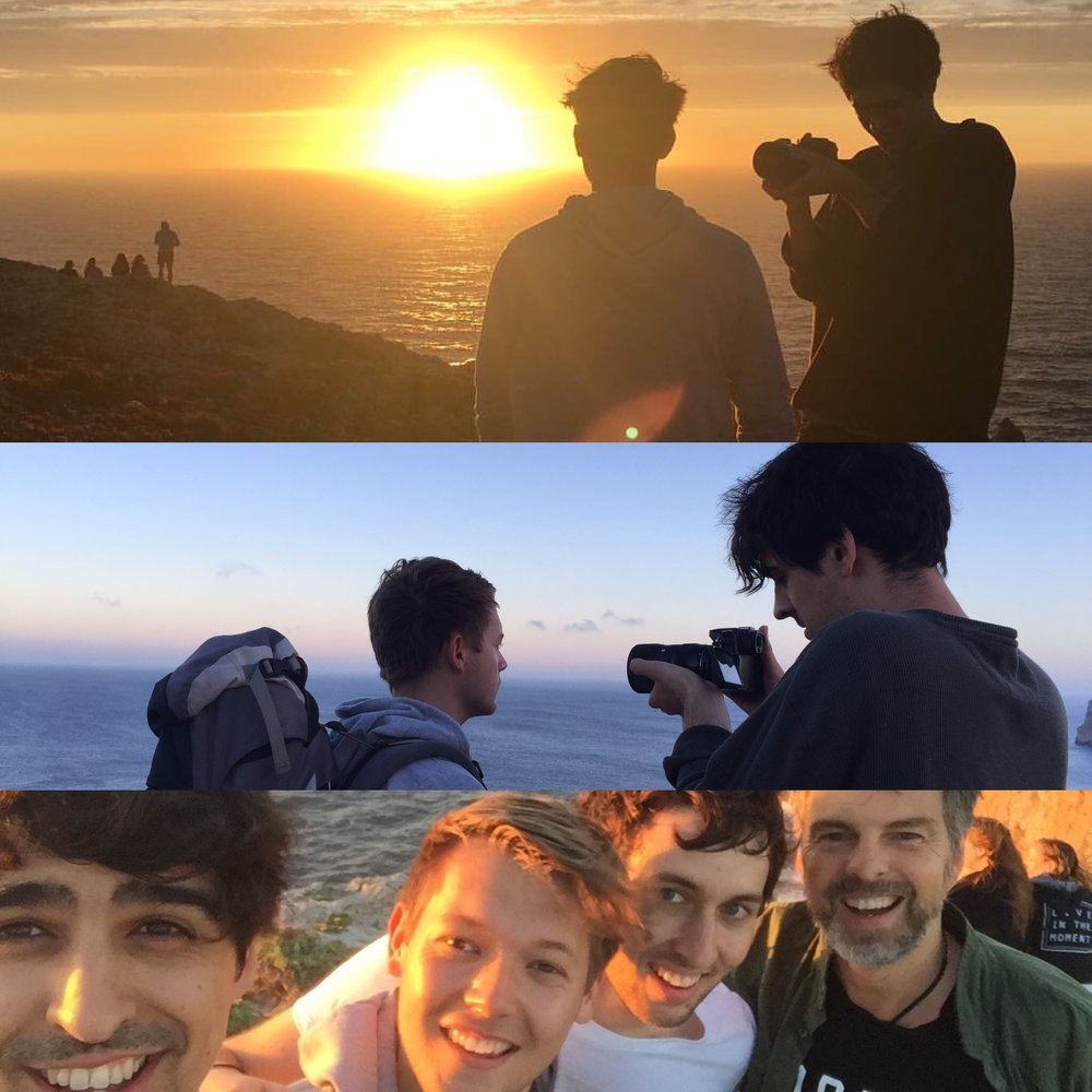 Cape St Vincent - June, 2016: Making the Dirty Glory video on location in Portugal with Nick Beasley, Jake Clarke and Adam Heather.