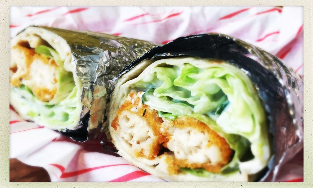 'Fish' Wrap