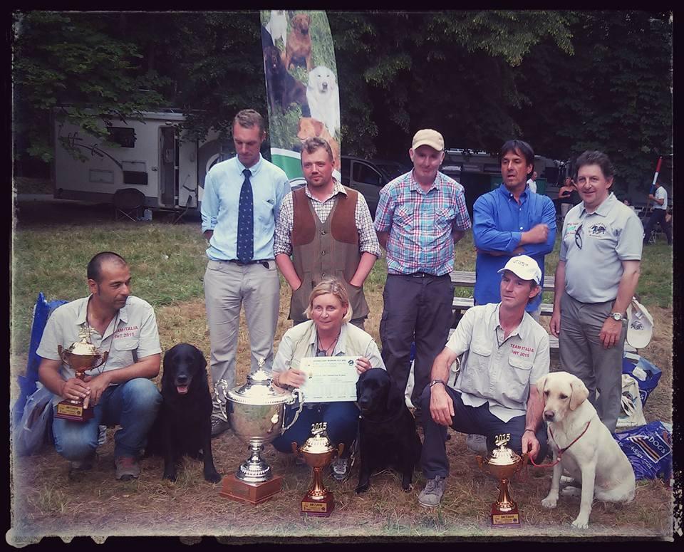 2015 WINNER IWT     (INTERNATIONAL WORKING TEST) IN REPUBBLICA CECA