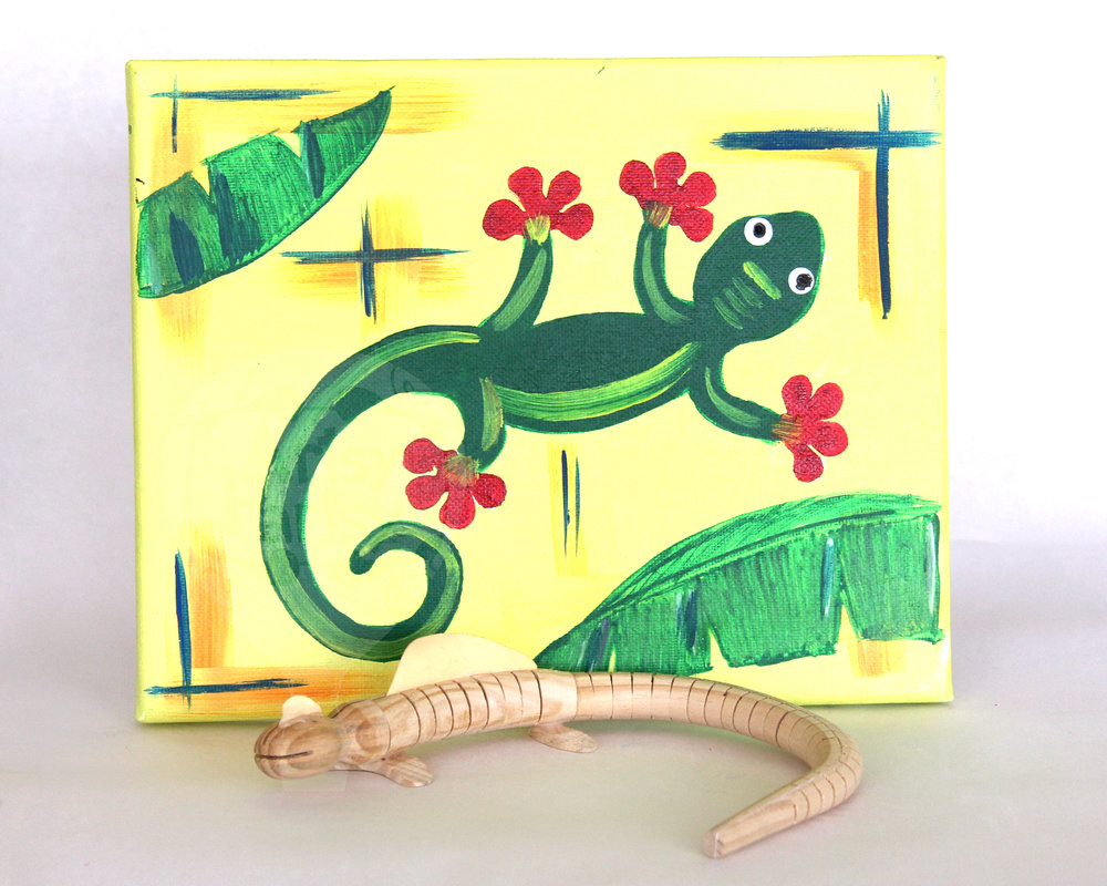 Add a Lizard to your tropical event.