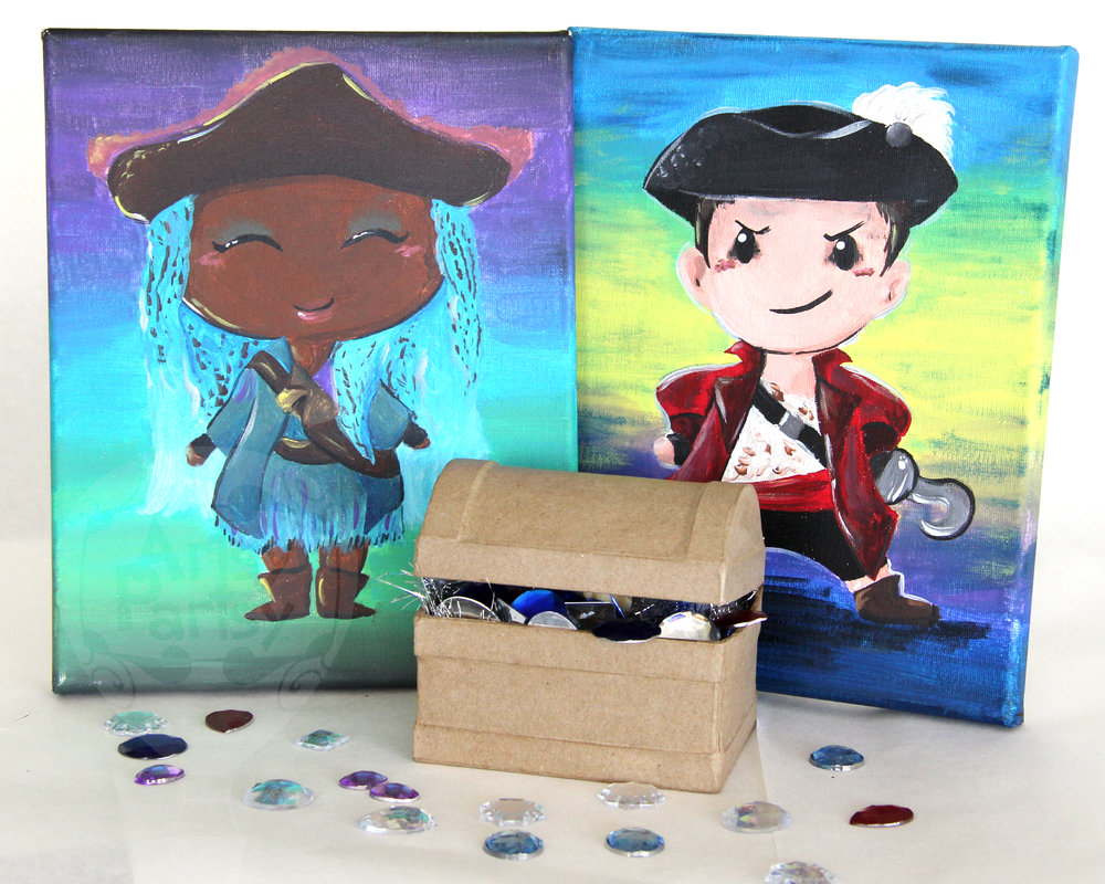 Treasure Chest for your Pirate Event