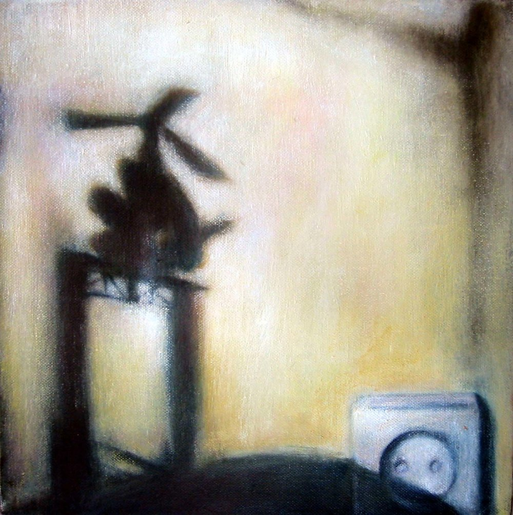 Interior from children's playroom  Oil on canvas  30 x 30 cm 2005